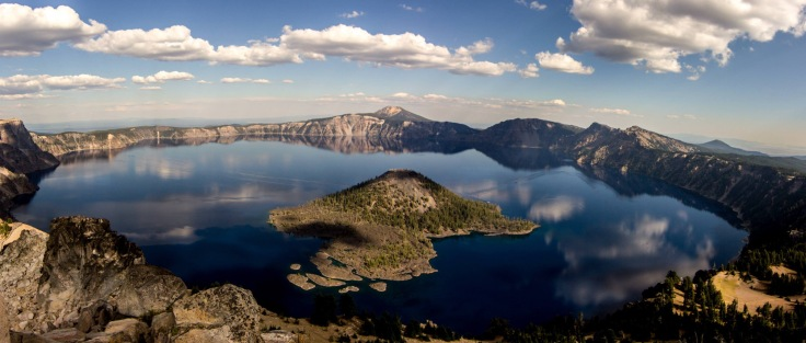 But seriously: Crater freaking Lake!
