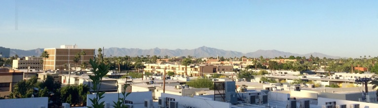 A panorama view of Phoenix