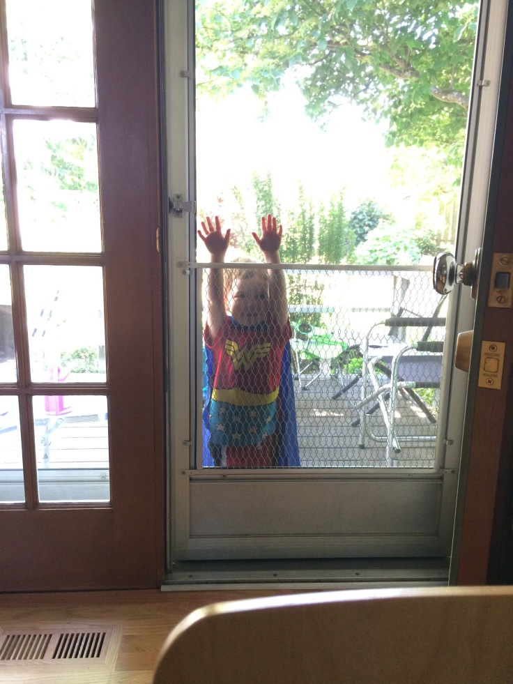 Wonder Woman wants in