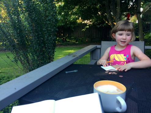 Coffee with my best girl.