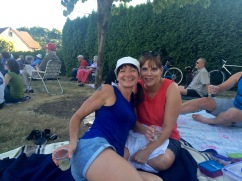 My sister Adrienne and friend Elizabeth