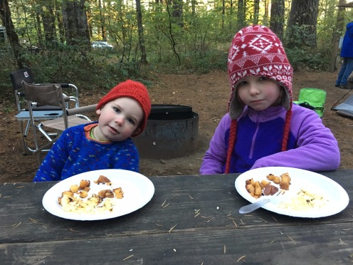 Cold kids and breakfast