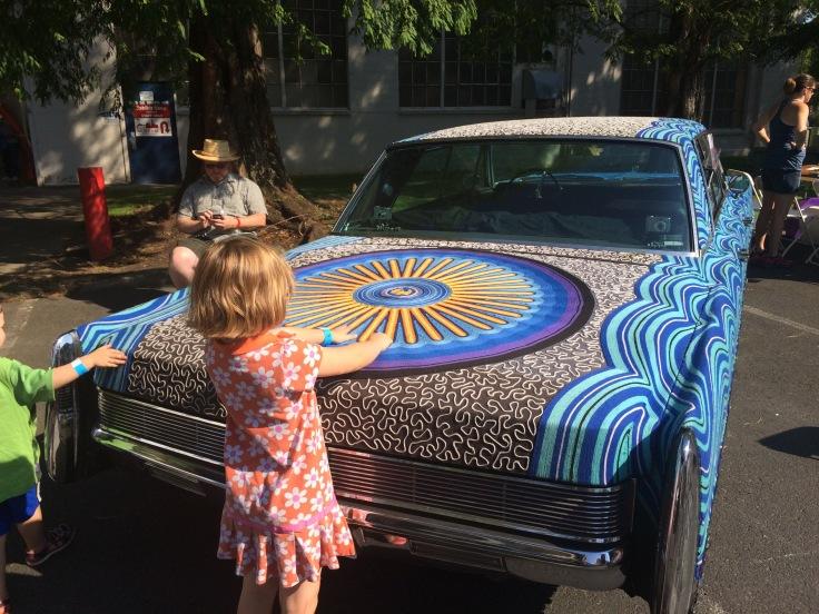 Yarn car!